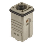 HARTING Han Heavy Duty Power Connector Insert, 1 contacts, 100A, Male