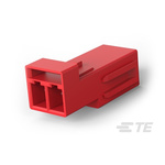 TE Connectivity, LIGHT-N-LOK Female 2 Pole 2 Way Modular Latched Wire to Wire, Cable Mount, Rated At 9A, 600 V ac