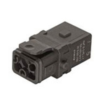 HARTING Han 1A Heavy Duty Power Connector Insert, 5 contacts, 10A, Female