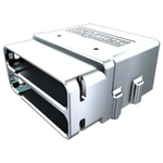 Samtec Multi-Purpose Cage for Mates with four row HDI6 connector, HDC-035-01