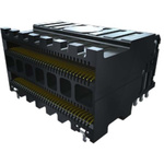 Samtec Receptacle for 0.635 mm Eye Speed® HD High-Speed High-Density I/O Cable Assembly - SERIES : HDLSP,