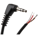 Switchcraft 3.1m 3.5 mm Stereo Male Jack 90° angled Audio Cable Assembly