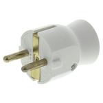 Legrand Male White Plug