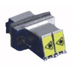 Molex Multimode, Single Mode Duplex Fibre Optic Adapter
