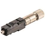 Harting, 2010, SC Fibre Optic Connector, Polymer Optical Fibre (POF) 1mm Fibre Size