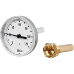 WIKA Dial Thermometer -30 → +120 °C, 14138808