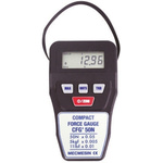 Mecmesin CFG+50 Force Gauge 500Hz RS232, Range: 50N, Resolution: 0.5 N, With RS Calibration