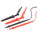 Staubli Test Lead Kit With Jaw Grip x 2, Probe x 2, Screwed Fuse, Test Lead x 2