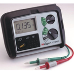 Megger LTW425-EU-BS Loop Impedance & RCD Combined Tester, Loop Impedance Test Type 2 Wire 440V, RCD Test Type AC