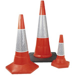 JSP Weighted Red 760 mm PE Traffic Cone