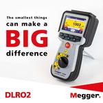 Megger DLRO2 Earth Tester 2000Ω CATIII 600V, CATIV 300