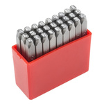 RS PRO 2.5mm x 27 Piece Engraving Letter Punch Set, (A to Z)