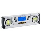 Laserliner 240mm Magnetic, LCD Inclinometer, User Calibrated