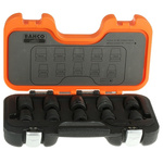 Bahco D/S10 10 Piece Socket Set, 1/2 in Square Drive