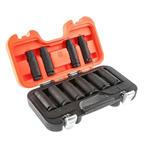 Bahco DD/S10 10 Piece Socket Set, 1/2 in Square Drive