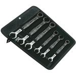 Wera 6 Piece Chrome Molybdenum Steel Spanner Set