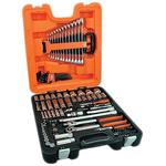 Bahco S103 103 Piece Socket Set, 1/2 in, 1/4 in Hexagon Drive