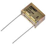 KEMET Paper Capacitor 220nF 275V ac ±20% Tolerance P409 Through Hole +85°C