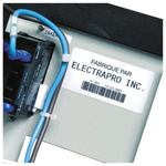 Brady Cable Label Refill Labels for use with BM71,TLS2200,TLS-PC Printers
