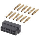 Datamate Connector Kit Containing 12 way DIL Female Shell, Crimps