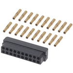 Datamate Connector Kit Containing 20 way DIL Female Shell, Crimps