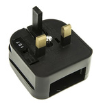 PowerConnections China, Japan, USA to UK Mains Connector Converter, Rated At 10A