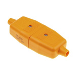 Masterplug 2P Pole Cable Mount Female, Male Mains Inline Connector Rated At 10A