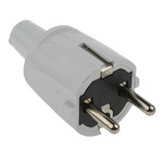 ABL Sursum Europe Mains Connector Type F- Schuko, 16A, Cable Mount, 250 V