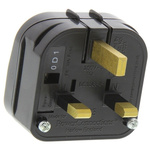 PowerConnections Italy to UK Mains Connector Converter, Rated At 10A