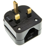PowerConnections US to UK Mains Connector Converter, Rated At 5A