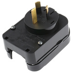 PowerConnections Europe to Australia Mains Connector Converter, Rated At 10A