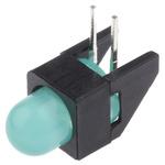 Broadcom HLMP-4740-A00B2, Green Right Angle PCB LED Indicator, Through Hole 2.2 V