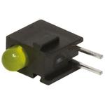 Bivar H100CYDL, Yellow Right Angle PCB LED Indicator, Through Hole 2.2 V