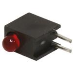 Bivar H101CHD, Red Right Angle PCB LED Indicator, Through Hole 2.8 V