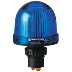 Werma EM 206 Blue Incandescent, LED Beacon, 12 → 48 V ac/dc, Steady, Panel Mount
