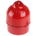 Klaxon Sonos Pulse Red LED Beacon, 17 → 60 V dc, Flashing, Wall Mount