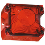 Pfannenberg PY X-S-05 Red Xenon Beacon, 230 V ac, Flashing, Panel Mount