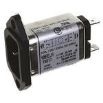 TE Connectivity EMI Filter - 54.61mm Length, 10 A, 250 V ac