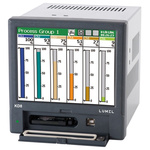 Lumel KD8, 4 Channel, Graphic Recorder Measures Current, Humidity, Resistance, Temperature, Voltage