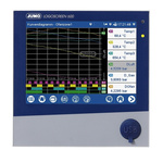 Jumo Logoscreen 600, 6 Channel, Paperless Chart Recorder Measures Current, Humidity, Resistance, Temperature, Voltage