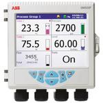 ABB SM50DFC/B2E0020E/STD, 6 Channel, Graphic Recorder Measures Current, Resistance, Temperature, Voltage