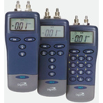 Digitron 2000P Differential Digital Pressure Meter With 2 Pressure Port/s, Max Pressure Measurement 130mbar RSCAL
