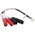 Fluke Networks CableIQ™ Speaker Wire Adapter Speaker Wire Adapter for CableIQ Qualification Tester