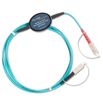 Fluke Networks Test Reference Cord for Certifiber® Pro Optical Loss Test Set, SC Terminated Fiber, MRC-50-EFC-SCSC
