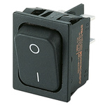 Marquardt Double Pole Single Throw (DPST), On-None-Off Rocker Switch Panel Mount