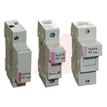 Altech 25A Rail Mount Fuse Holders With Indicator, 1P, 1000V dc