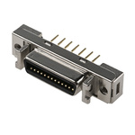 3M Female 26 Pin Straight Through Hole SCSI Connector 2.54mm Pitch, Solder
