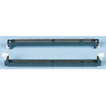 E-TEC 2.54mm Pitch 168 Way, Straight Through Hole Mount DIMM Socket ,3.3 V ,1.0A