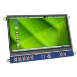 4D Systems 4DCAPE-70T TFT LCD Colour Display / Touch Screen, 7in WVGA, 800 x 480pixels