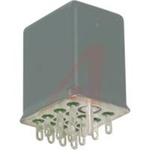 Relay,Hermetically Sealed,4PDT,Solder/Plug-In,24 VDC,5 Amp,650 Ohms